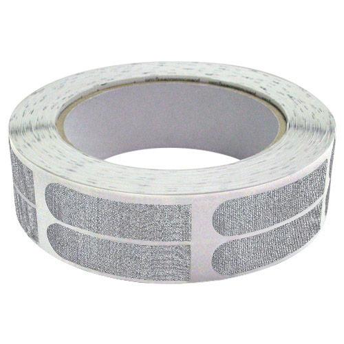 1/2 Inch Silver 500 Pieces