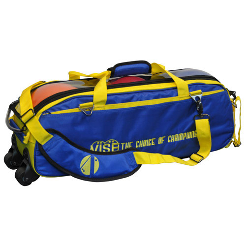 3 Ball Tote Blue/Yellow