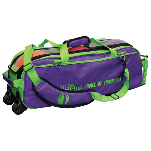 3 Ball Tote Grape/Green