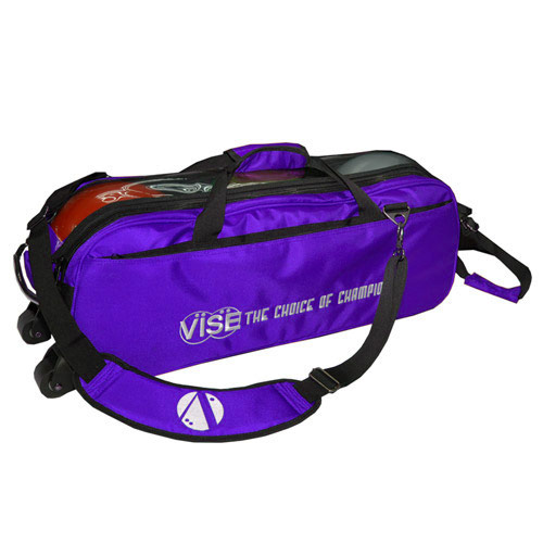 3 Ball Tote Purple