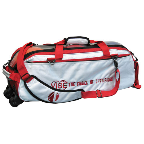 3 Ball Tote White/Red