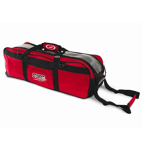 Tournament 3 Ball Tote Red/Black
