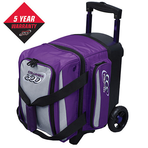Icon Single Roller - Purple/Silver