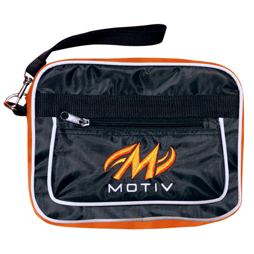 Accessory Bag Black/Orange