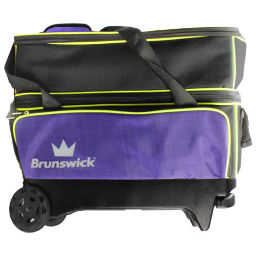 Crown deluxe double roller - Purple/Yellow