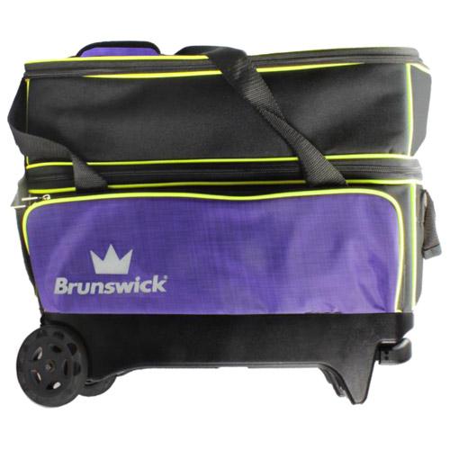 Crown deluxe double roller - Purple/Yellow