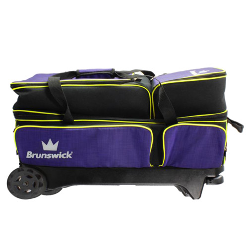 Crown deluxe triple roller - Purple/Lime