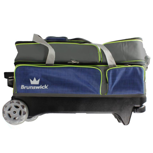 Crown deluxe triple roller - Navy/Lime