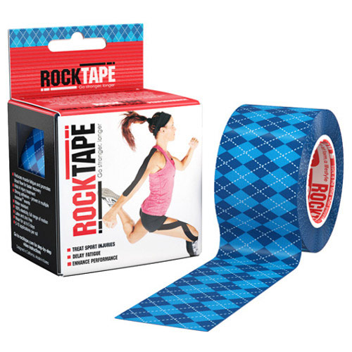Blue Argyle 2 Inch Roll