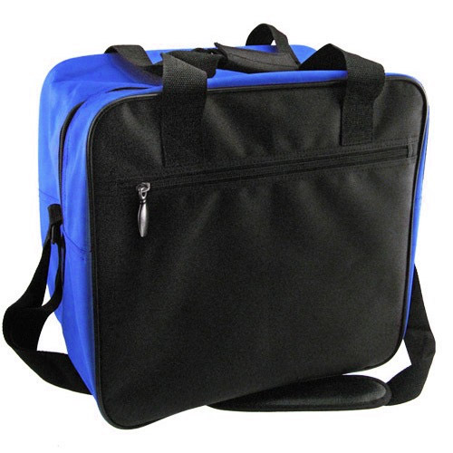 Single tote - Black/Royal