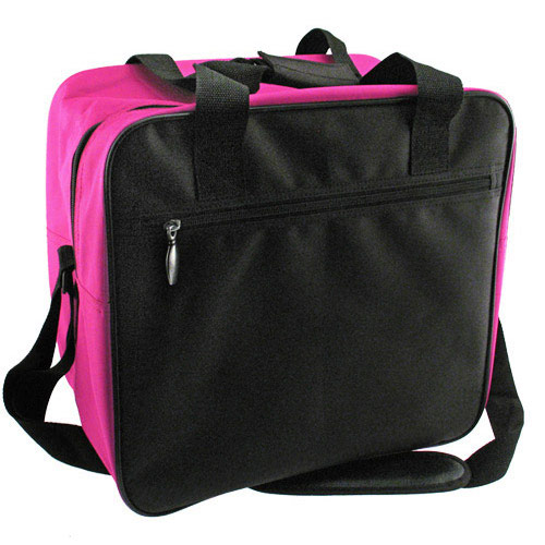 Classic Single Tote Black/Pink