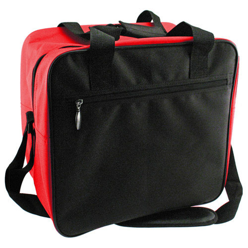 Classic Single Tote Black/Red