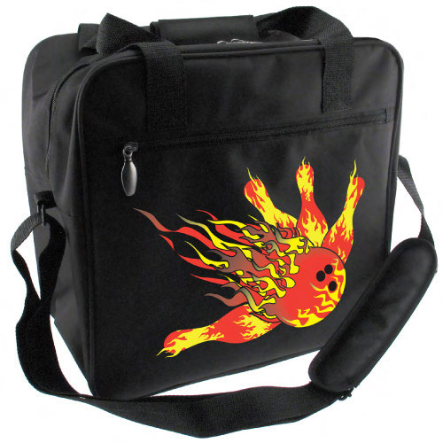 Single Tote Flame Logo