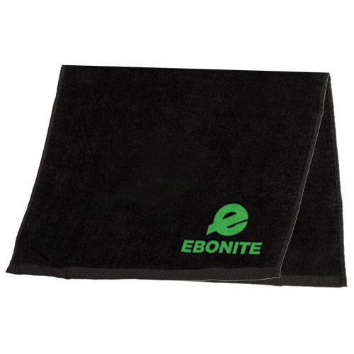 Solid Cotton Towel Black