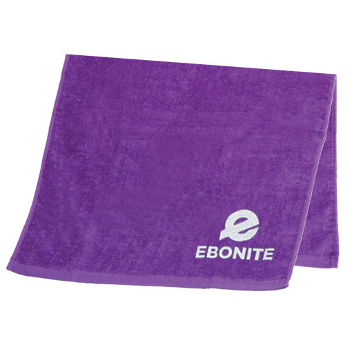 Solid Cotton Towel Purple