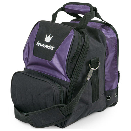 Crown Single Tote Purple