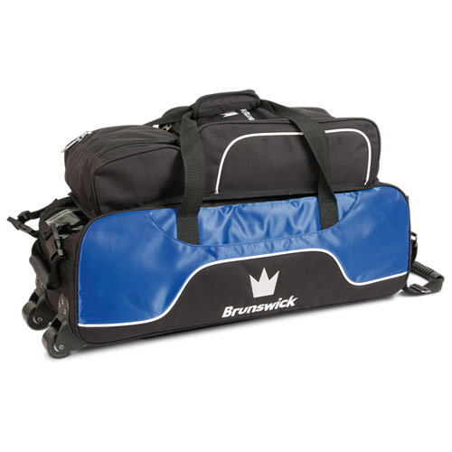 Crown Triple Tote Royal With Shoe Pouch