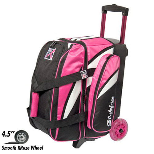 Cruiser Smooth Double Roller Pink/White/Black