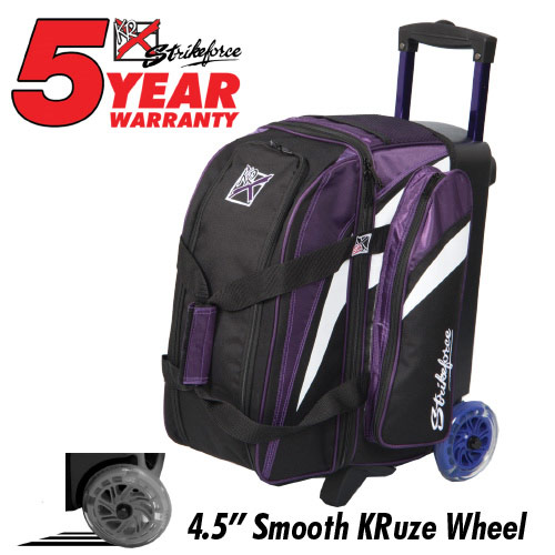 Cruiser Smooth Double Roller Purple/White/Black