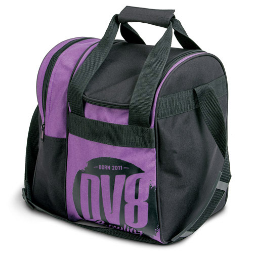Tactic Single Tote Black/Purple