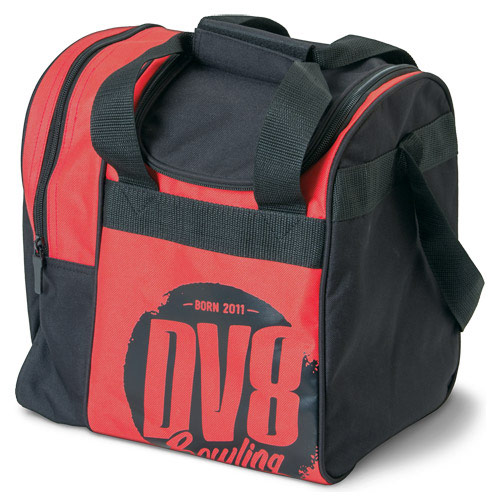Tactic Single Tote Black/Red