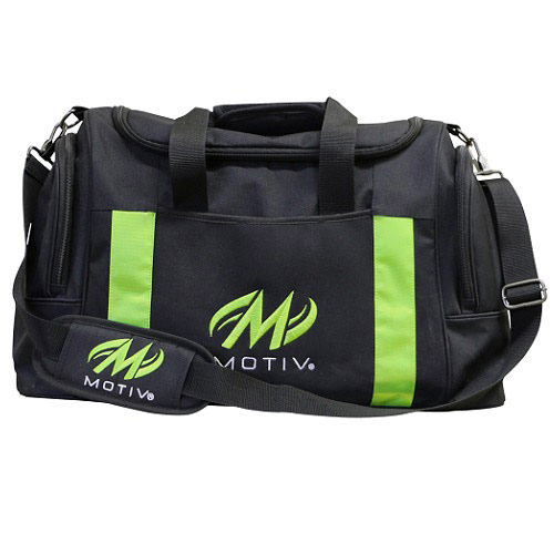 Deluxe Double Tote Black/Green