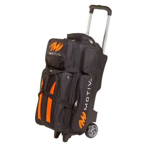 Deluxe Triple Roller Black/Orange