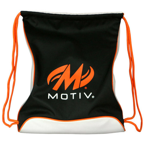 Agility Drawstring Sackpack - Black/Orange