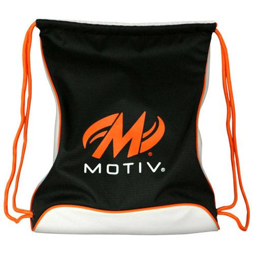 Agility Drawstring Sackpack - Black/Orange