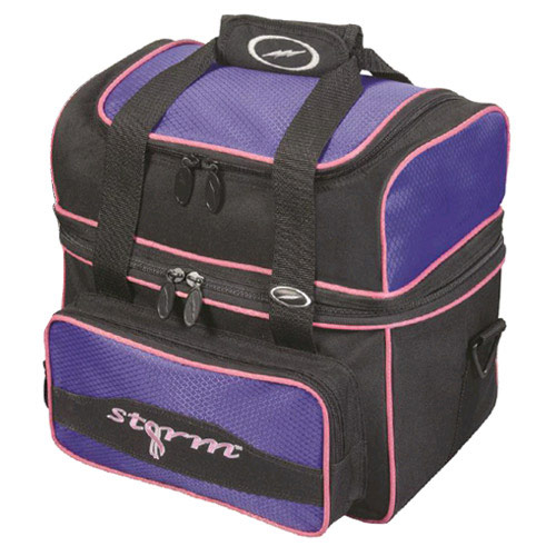 Flip Tote 1-Ball Bag Black/Purple