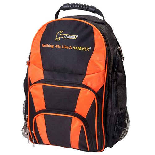 Backpack Black/Orange