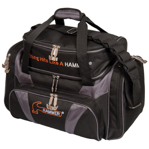 Double Deluxe Double Tote Black/Carbon