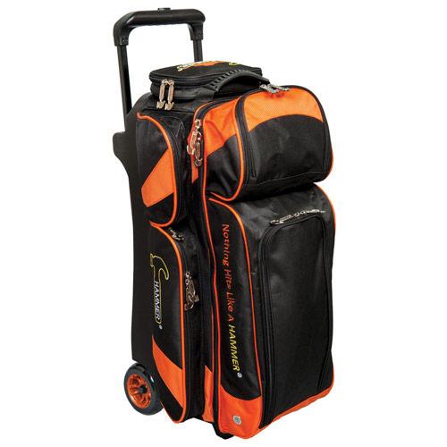 Premium 3 Ball Roller Black/Orange