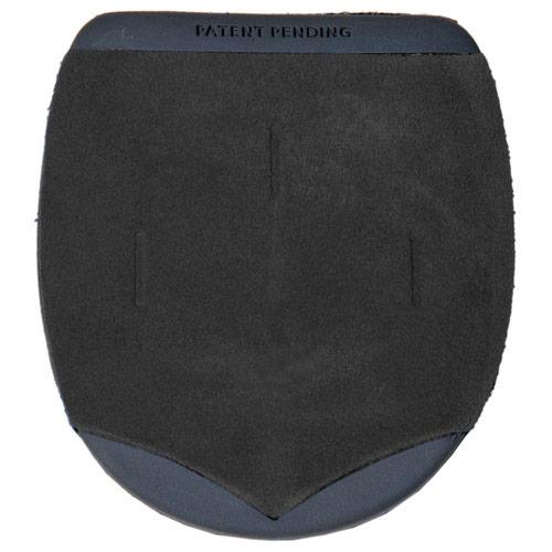 KR/Hammer #7 Heel Black Leather