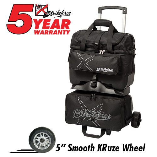 Hybrid X 4 Ball Roller Bag Black