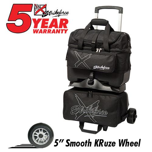 Hybrid X 4 Ball Roller Bag Black