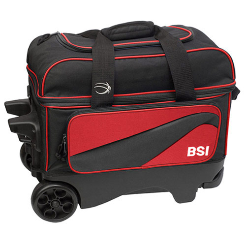 Large Wheel Double Roller Black/Red