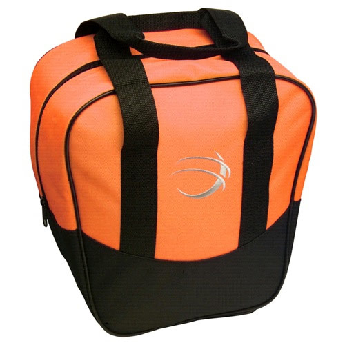 Nova Single Tote Orange/Black