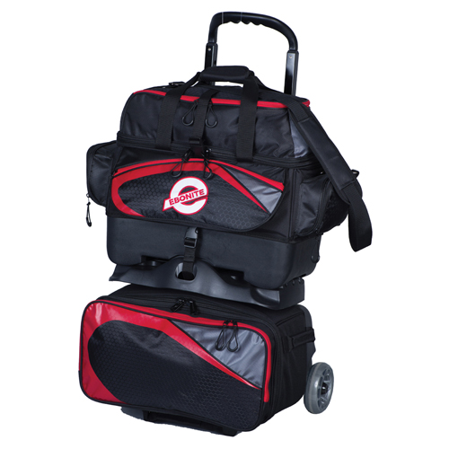 Players 4B Roller Black/Red