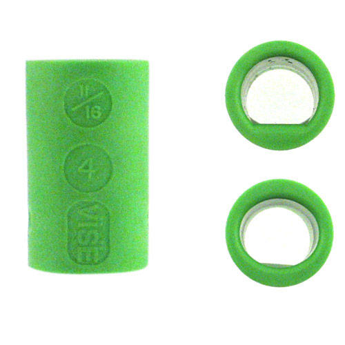 Power Lift and Oval Grip Green