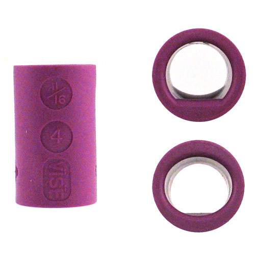 Power Lift and Oval Grip Purple