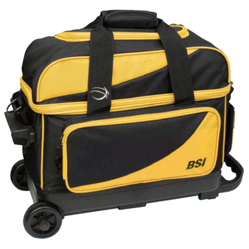Prestige Double Roller Black/Yellow