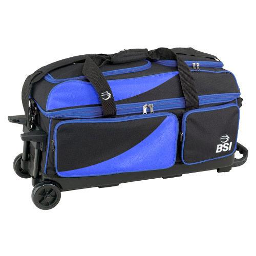 b53f2ff11c BSI Prestige Triple Roller Black Blue
