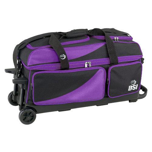 Prestige Triple Roller Black/Purple