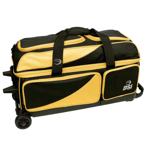Prestige Triple Roller Black/Yellow