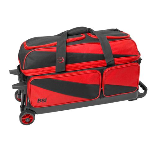 Prestige Triple Roller Black/Red