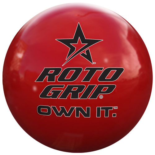 Own It red/clear polyester