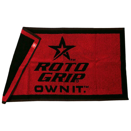 Red/Black Woven Towel