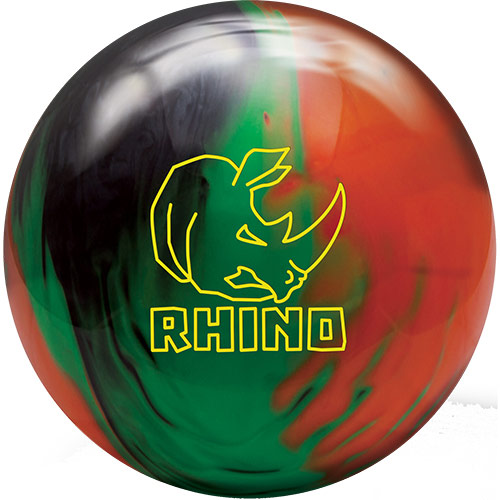 Rhino - Black/Green/Orange Pearl