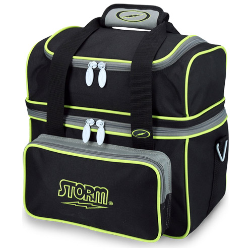 Flip Tote 1-Ball Bag Black/Gray/Lime